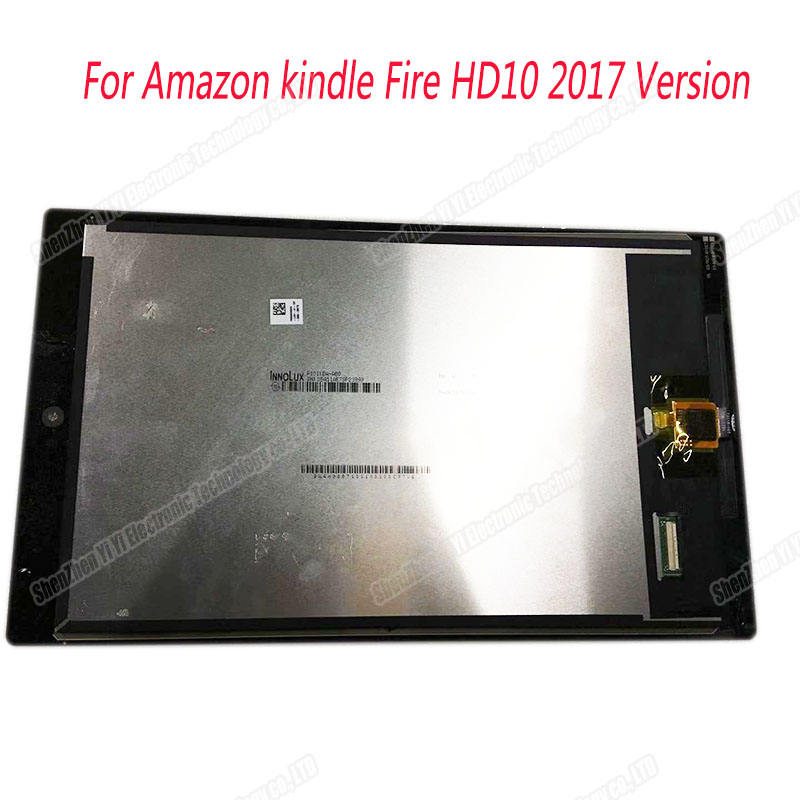 For Amazon Kindle Fire HD 10 SL056ZE Gen 2017 LCD Display Touch Screen Digitizer