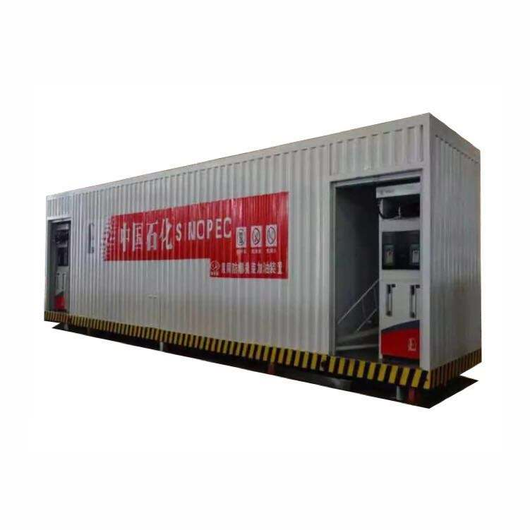 20ft and 40ft Container filling fuel tank mobile fuel station