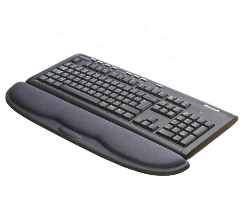 Durable Comfortable Lightweight Non Slip Pad For Easy Typing Pain Relief Office Home Use Keyboard Mouse Pad with Wrist Support