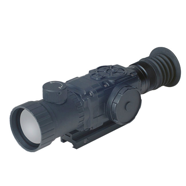 high performance 640*480px Military hunting night vision riflescope real-time digital optical amplify thermal weapon sight
