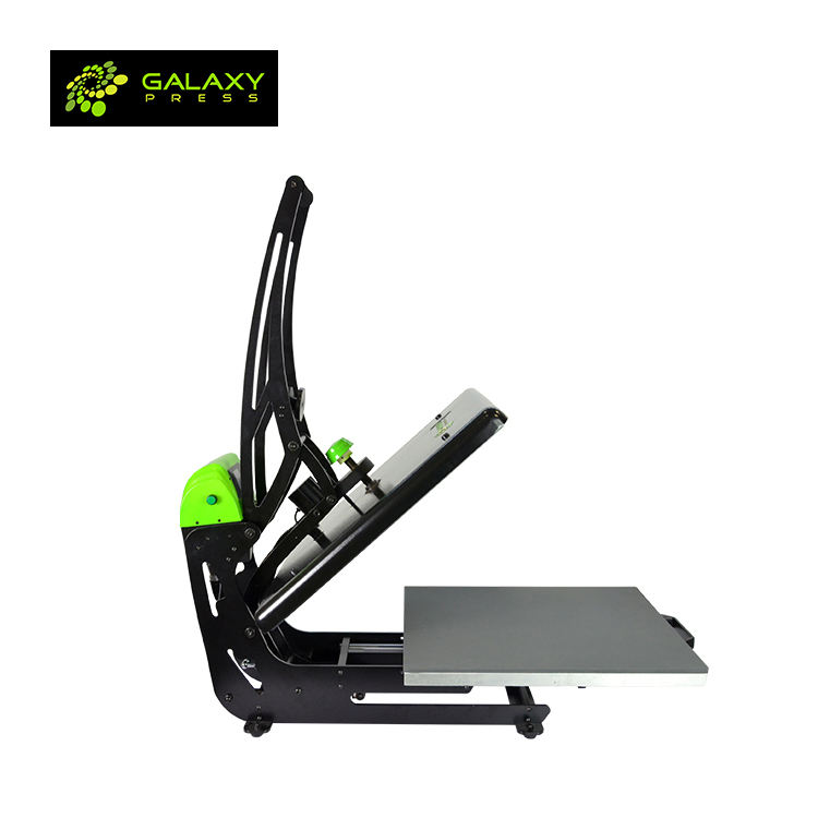 Famous Manufacturer Supply Galaxy Auto Clam Slider Sublimation Heat Press Machine from Galaxy press