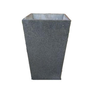 Hand Carved Planter Granite Flower Pots for Garden Decoration