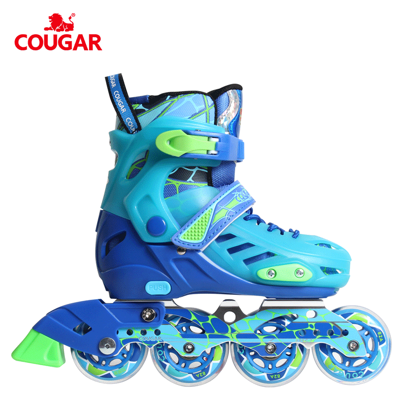 Guangzhou factory roller wheels shoes freestyle slalom inline cheap kids skates
