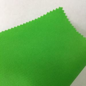 Polypropylene 비 짠 pplaminated nonwoven 한 interlining environmental material 대 한 백 만들기