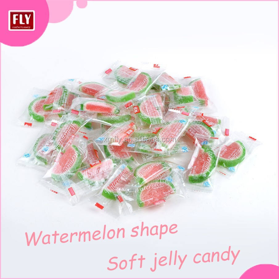 Fruit Candy Sweets Watermelon Slice Soft Jelly /Gummy Candy