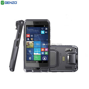 6inch PDA Windows 10 Mobile Data Collector Handheld Terminal With Charging Docking 4G DDR 64G ROM 1D 2D Scanner NFC Reader