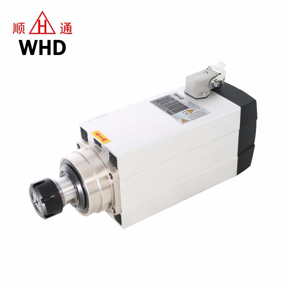 1.5kw 2.2kw 3.5kw 4.5KW 6kw Air Cooled high speed ER20 ER25 ER32 CNC Router Machine Electric Spindle Motor Manufacturer