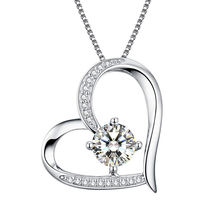 factory cheap wholesale 925 sterling silver cz paved silver pendant