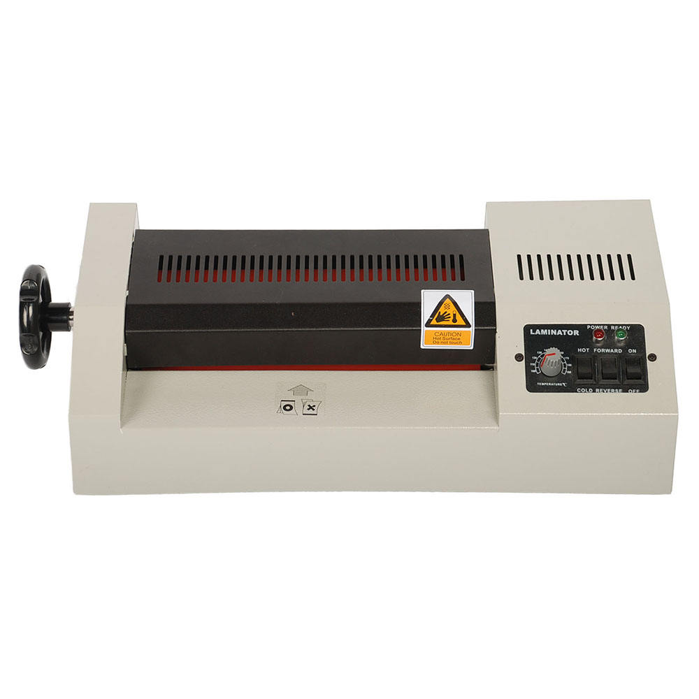A3 A4 hot thermal laminator machine with knob for photo and paper laminators