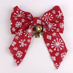 Custom personalized Christmas ribbon ready made ribbon bows
