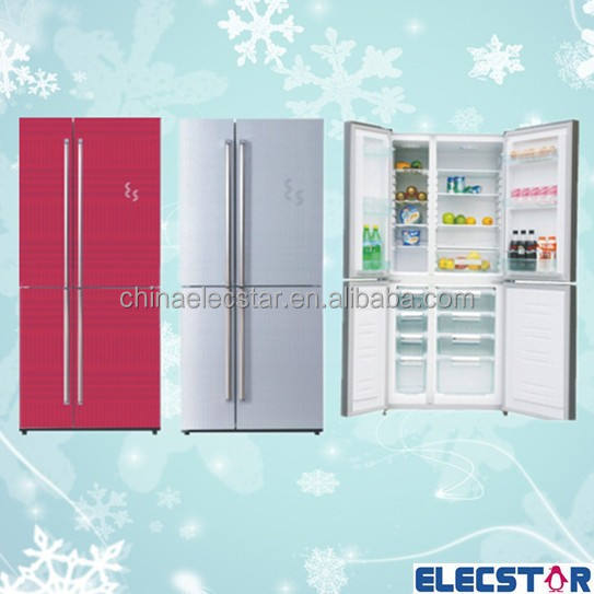 Side by side refrigerator/fridge, home household combi refrigerator