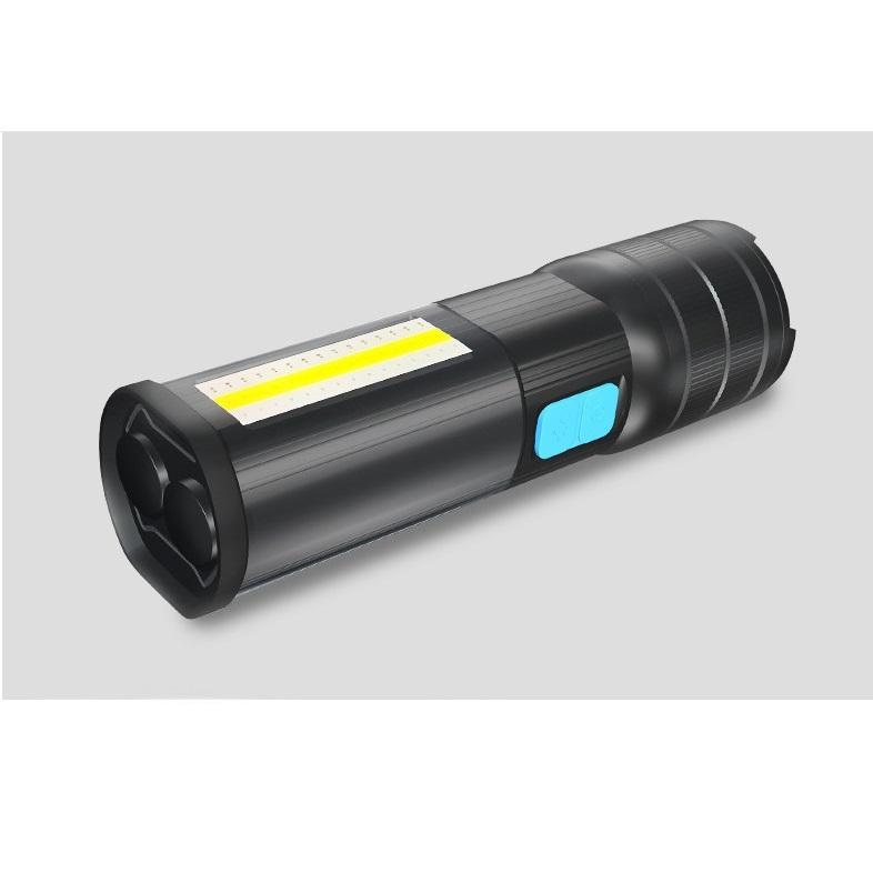 XML T6 led camping USB rechargeable camping COB torch