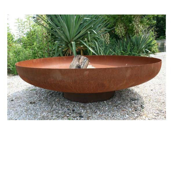 outdoor fireplace steel garden treasures fire pit / steel round large patio fire pit / outdoor steel firepits