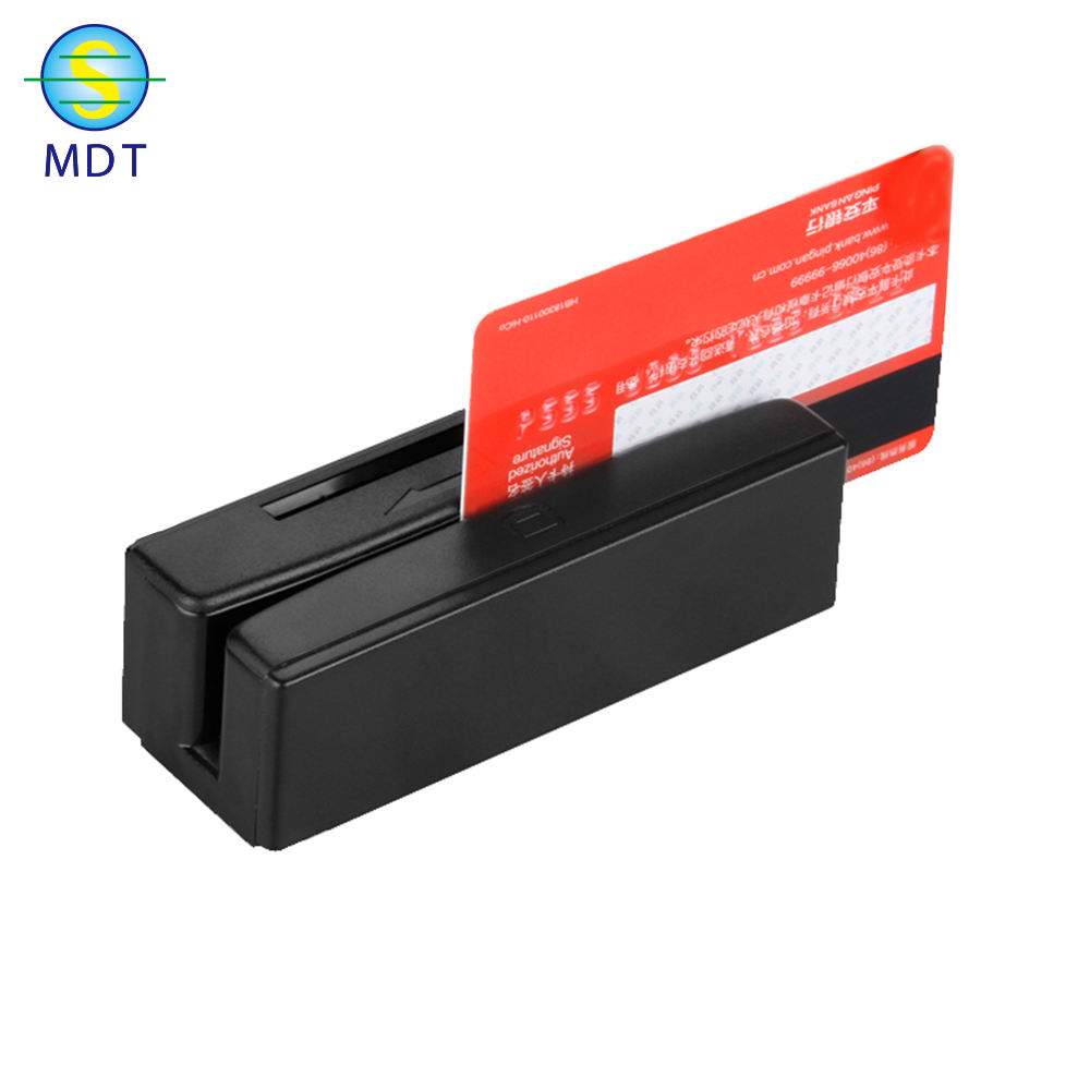 pvc plastic blank smart credit card magnetic stripe card with barcode
