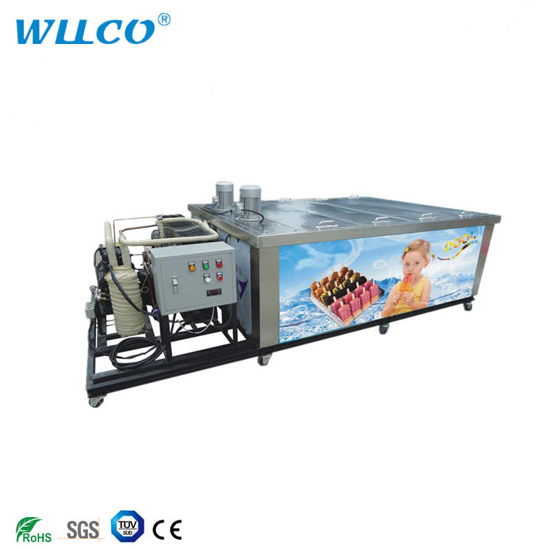 Fast freezing commercial popsicle freezer equipment lolly ice cream machine