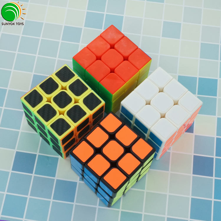 New YONGJUN GuanLong 3layer 3x3 upgraded version Speed Magic Cube Toys Educational toys plastic