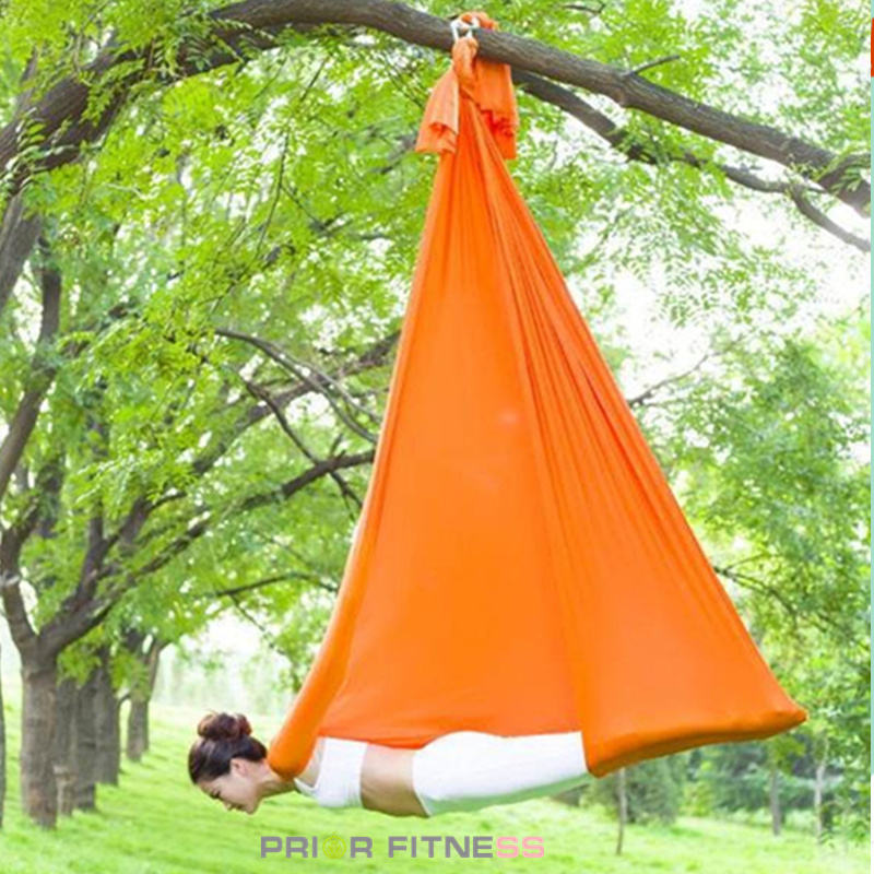 2019 New! Prior Fitness High quality yoga hammock full set anti-gravity aerial yoga hammock export to USA Indoor Swings