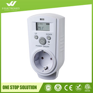 220v plug in digital temperature controller room thermostat
