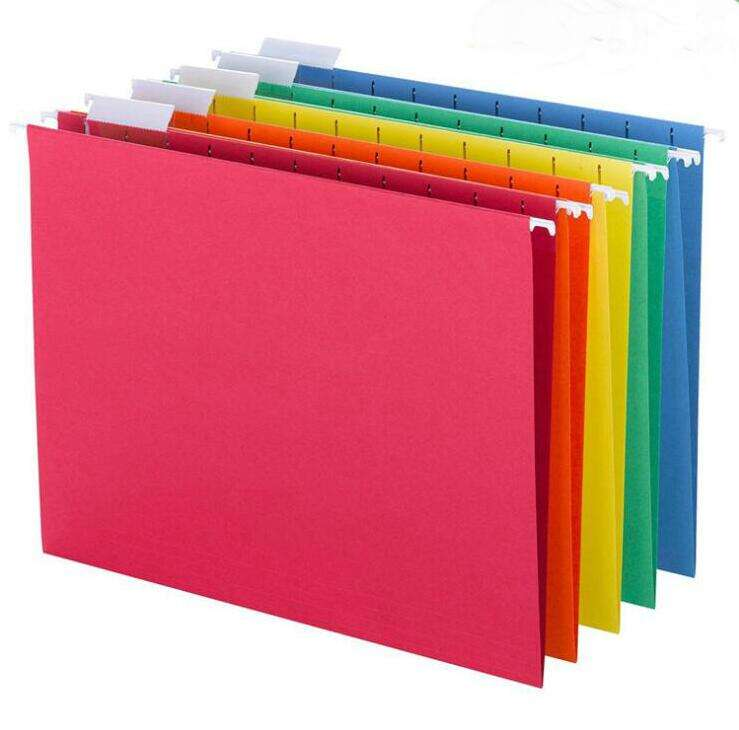 Promotional cheap colorful hanging file folders