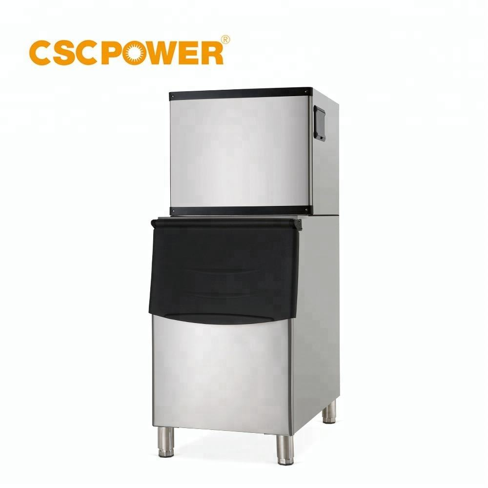 ce approved small capacity gold stainless steel ice cube ice block bag packing making machine of different size