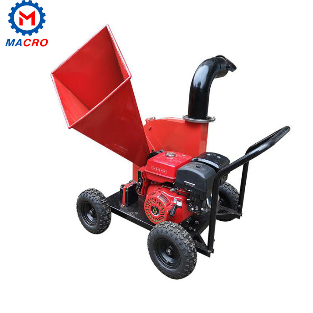 High Efficient Horizontal Feed Type Wood Tree Branches Twig Chipper Shredder In Paper MillsFiber MillsParticleboard Plants