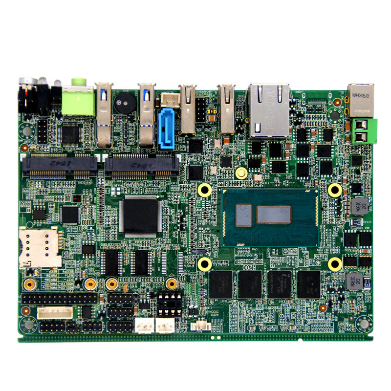 1*LAN/2*USB3.0/2*USB2.0/1*LINE-OUT embedded HU803B cpu industrial motherboard 3*SMI socket support 2G/3G/4G of CMCC/CUCC/CT