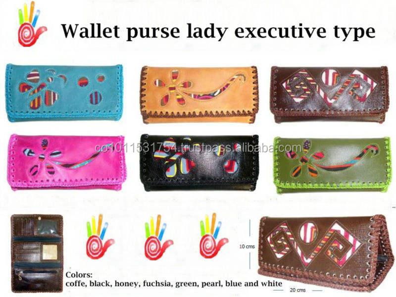 Wallet type purse for executive women
