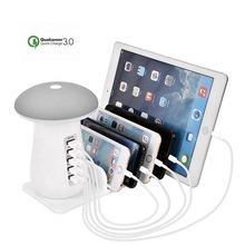 5 in 1 Stand Power Multi Tablet Phone Dock Multiple Charging Station
