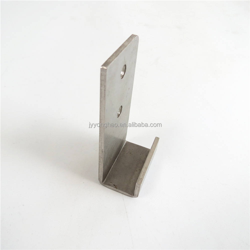 OEM industrial furniture bracket, Stainless steel Metal clamping bracket