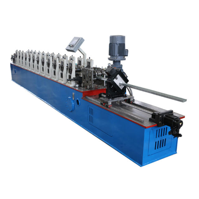 CNC channel color steel c purlin wall panels roll forming machine