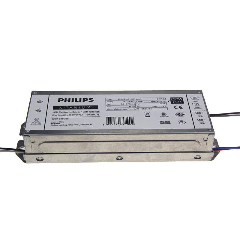 PHILIPS Xitanium 250W 0.7A 1-10V 230V-Q sXt 838508 404280 250W 700ma 1050mA 240V IP42 dimmable driver for Street Lights