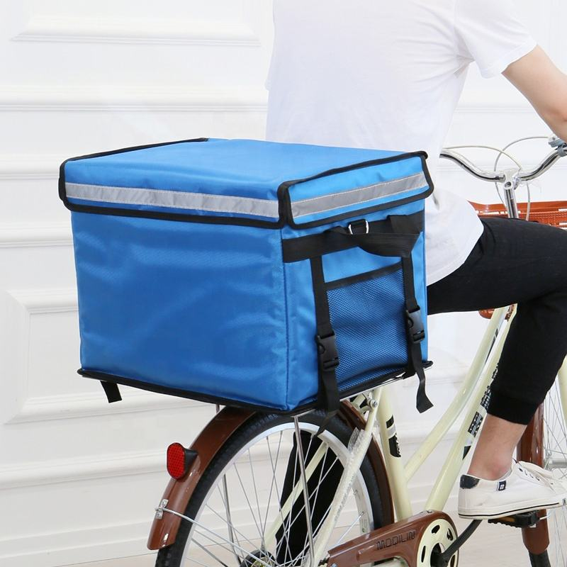 High quality insulated motorcycle bike food delivery bag