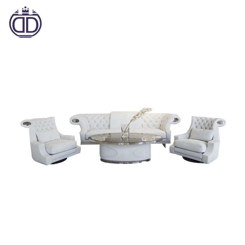 Modern commercial furniture living roomluxury modern sofa leather modern furniture design wooden frame sofa