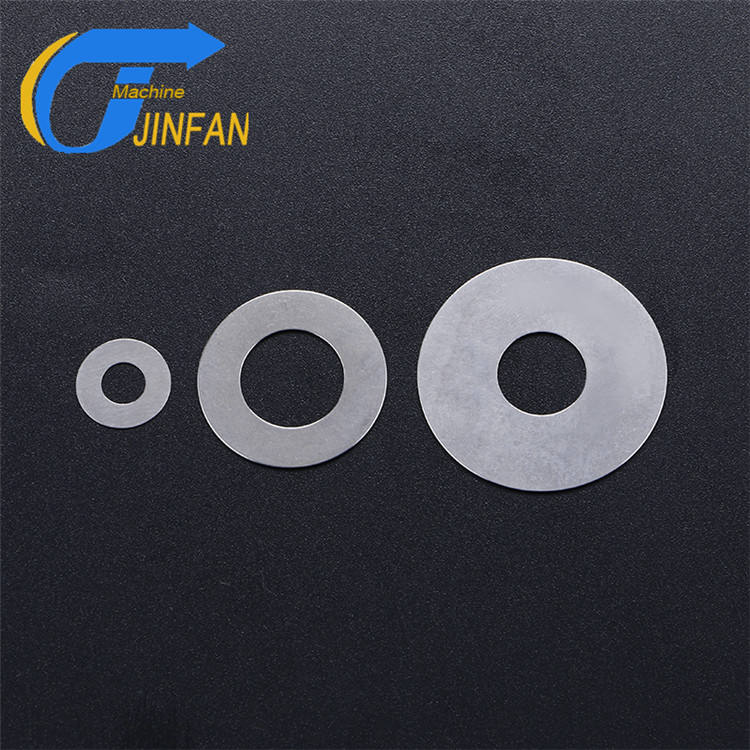 China produces precision customized to 0.1 mm shim Flow valve limit adjusting metal washer shock absorber shims