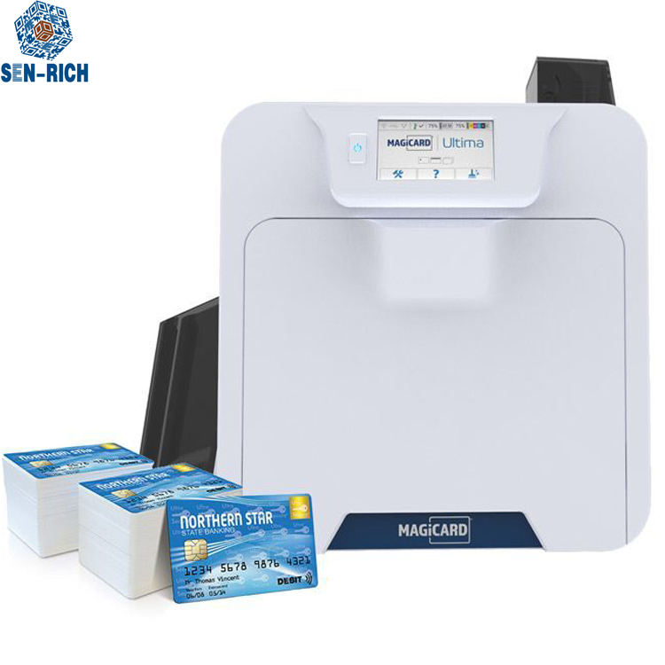 UItima MAGICARD Enduro3E PVC card printer Single Double-side PVC id Card Printer