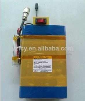 36v bicicleta eléctrica de la batería de litio de la batería <span class=keywords><strong>kit</strong></span>