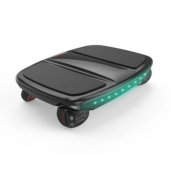 No sólo los más ligeros más ligero 5.5 KG 4 ruedas hoverboard smatr e scooter de equilibrio