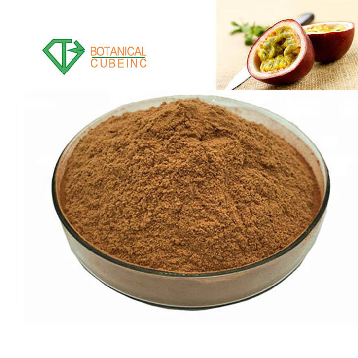 Hot Sale Factory Supply 10:1 Passiflora Extract Passion Fower Extract Powder