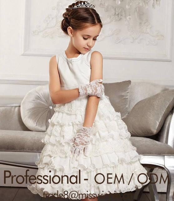 El último diseño vestido de boda de encaje para la muchacha