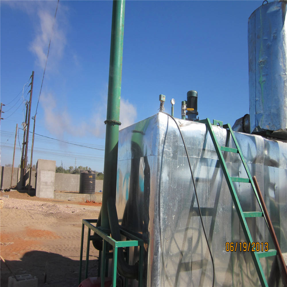 JNC waste oil purification recover equipment,engine oil recovering machine to diesel fuel