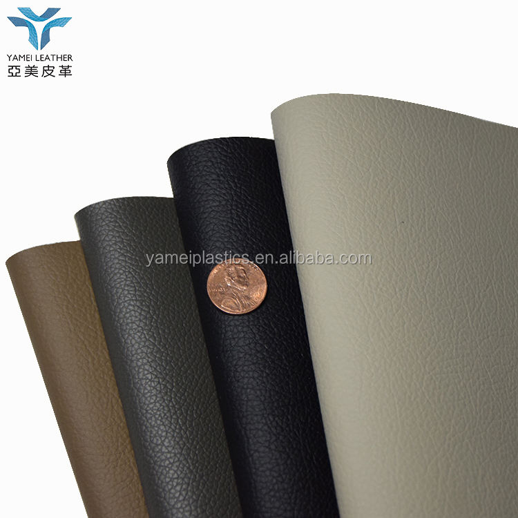 1.2mm eco friendly faux leather material for chair and sofa making material
