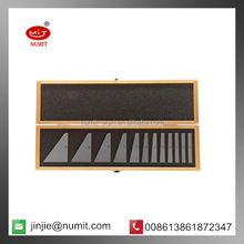 12 Piece Angle Block Gage Set with Case