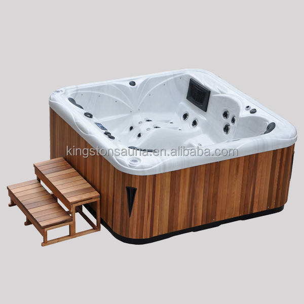 2014 newest plastic hot tub with big surfing jets JCS-63