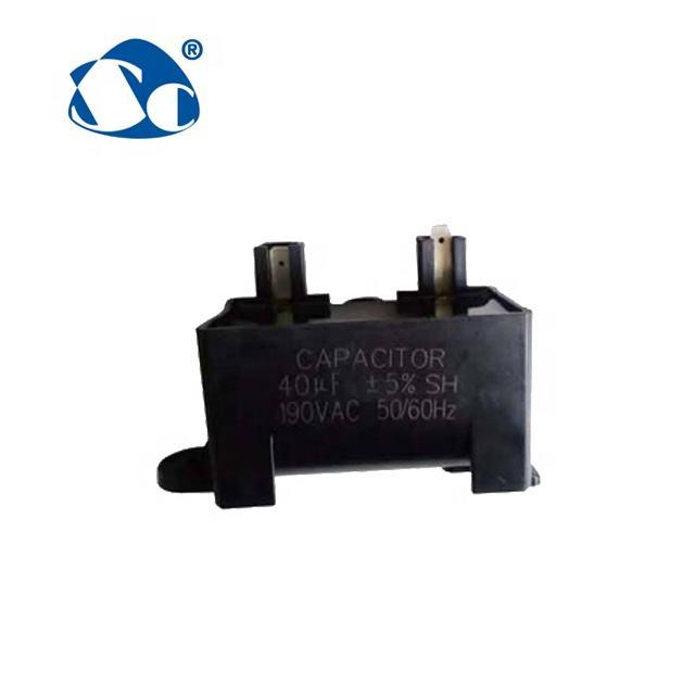 60UF 400-500V 4 TERMINALS METAL ROUND RUN CAPACITOR 60µF AIR COMPRESSOR