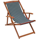 Wholesale Cheap Wooden Adjustable Reclining Folding Beach Deck Chair