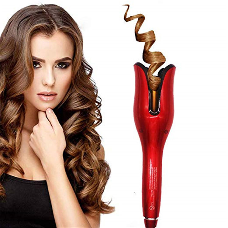 New Arrival LCD Display Soft Curlers Magic Automatic Hair Curler