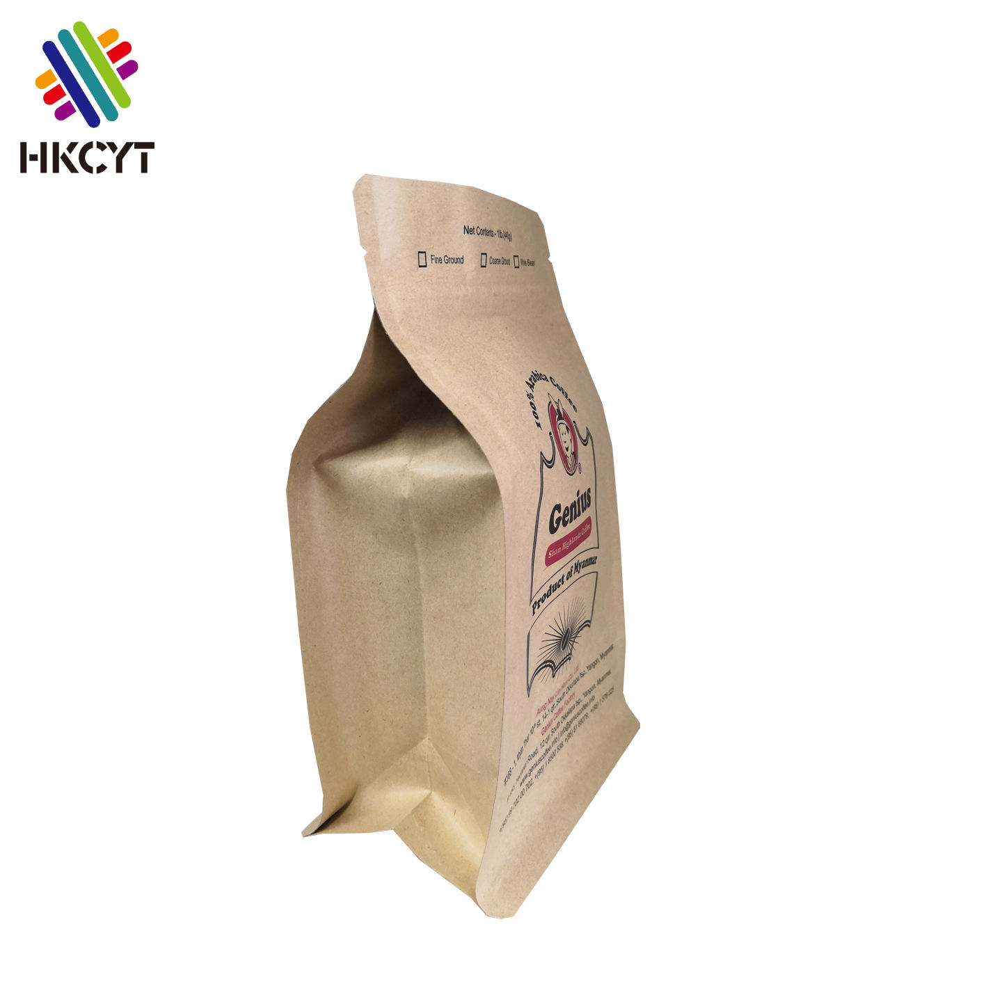China Manufacturer 5kg 10kg 25kg Custom Logo Kraft Paper Bag for Packing Milk Powder ,Whey Protein