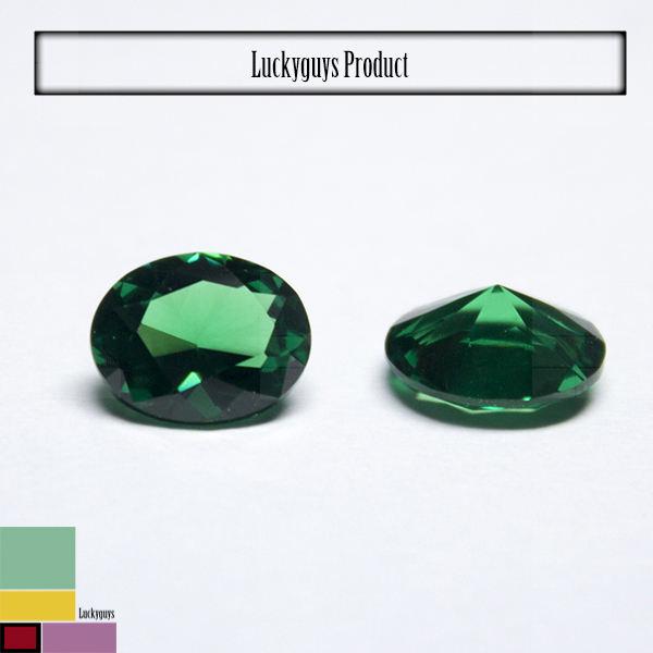 Горячая распродажа изумрудный цена за карат изумрудно-зеленый в форме сердца вырезать CZ камни
