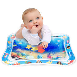Inflatable Tummy Time  baby  Water play mat