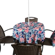 China table cloth factory custom outdoor round table cloth polyester